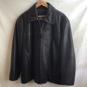 MARC Leather Bombers Jacket